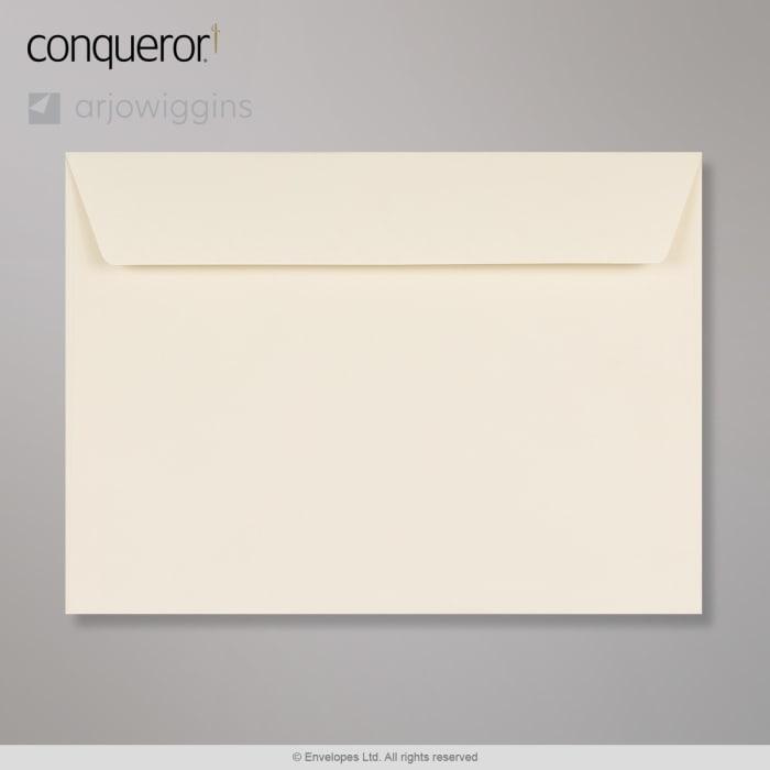 Sobre crema verjurado Conqueror de 229x324 mm (C4)