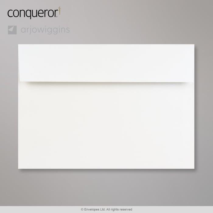 Enveloppe Conqueror iridescent blanc azuré 162x229 mm (C5)