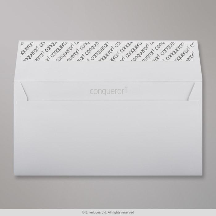 110x220 mm (DL) Busta Conqueror grigio chiaro