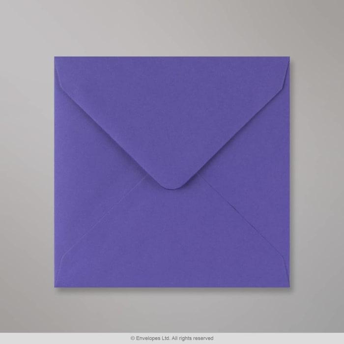 130x130 mm Irisblauwe envelop