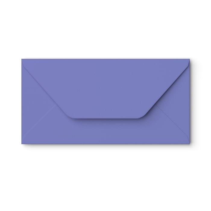 Sobre azul lirio de 110x220 mm (DL)