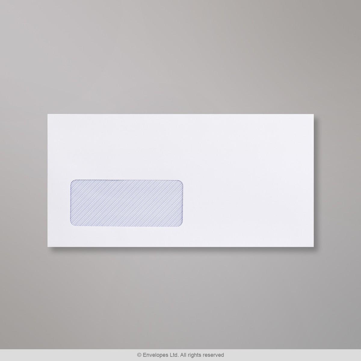 110x220 mm (DL) Busta bianca con finestra