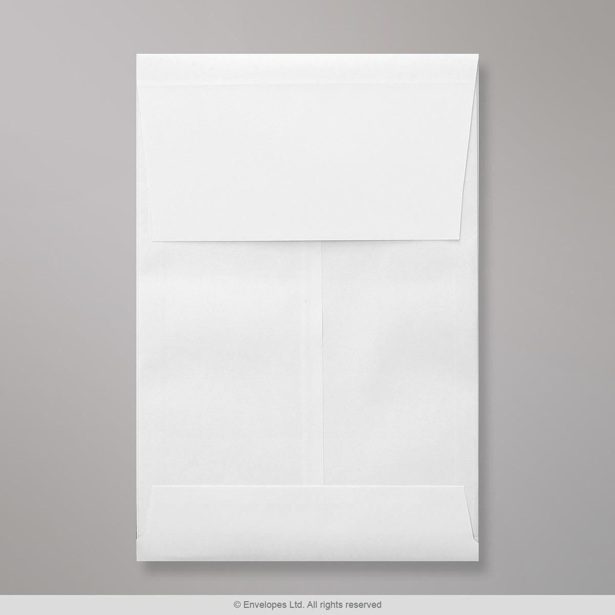 229x162x25 mm (C5) Busta a soffietto bianca