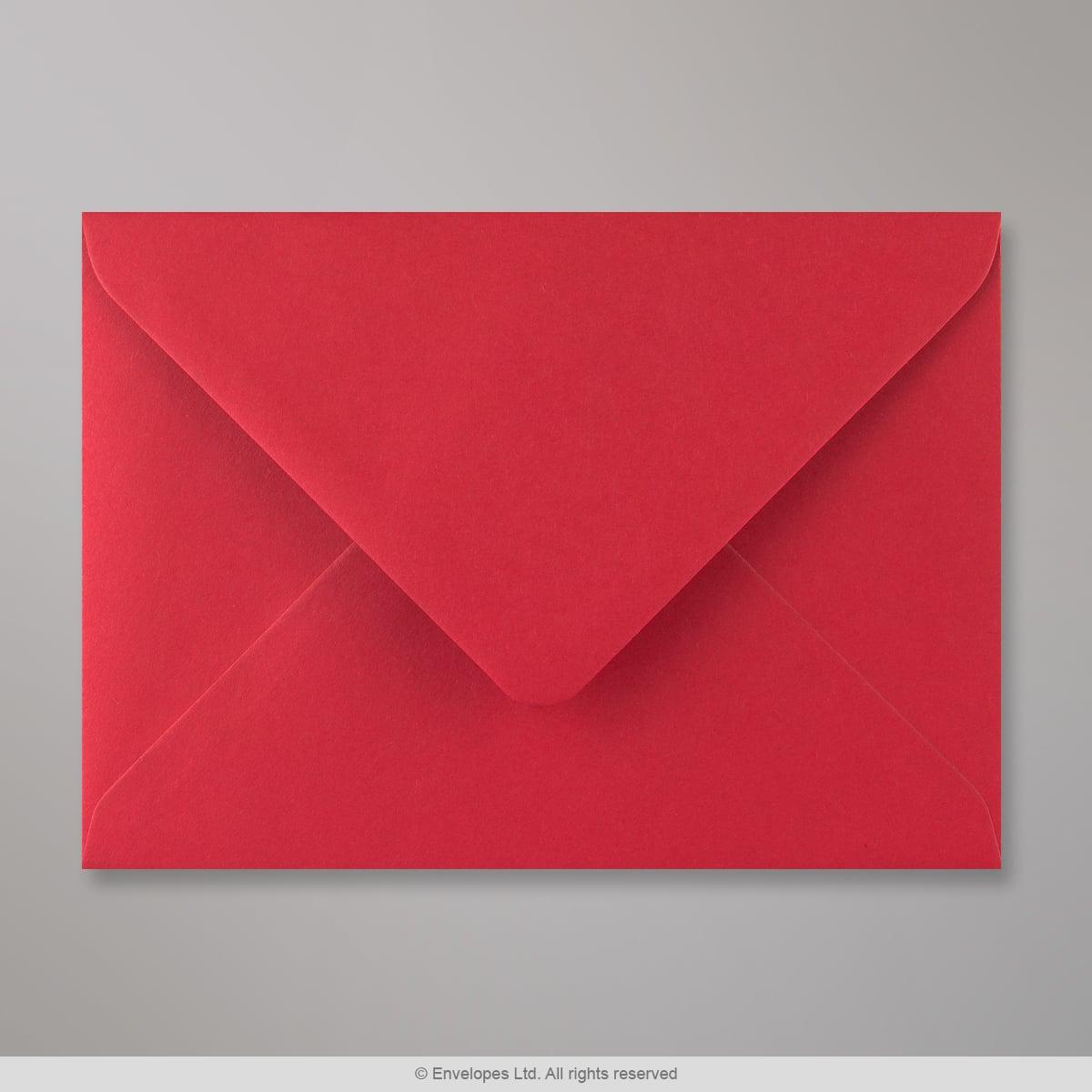 125x175 mm Busta Rosso Scarlatto
