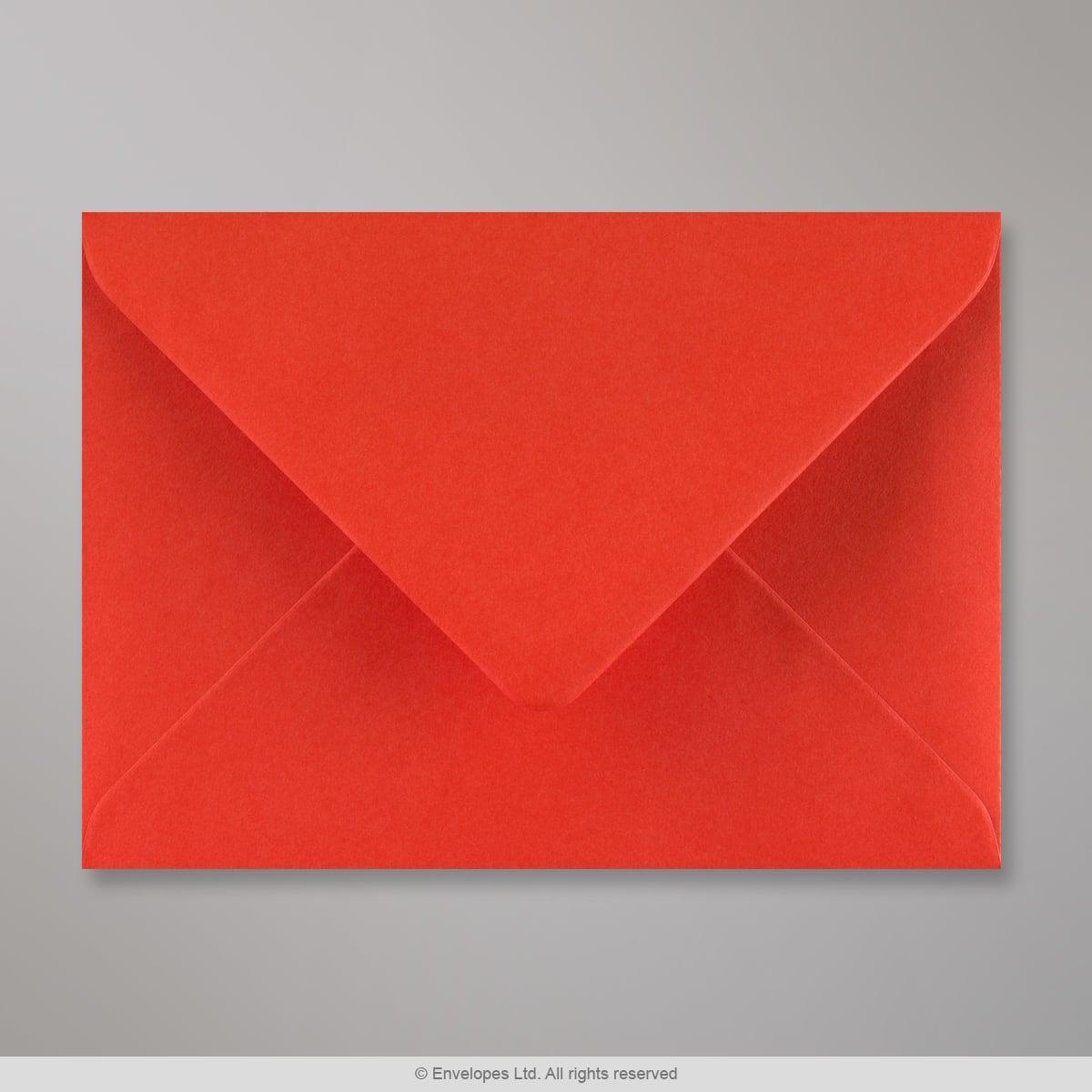 125x175 mm Busta Rosso Papavero