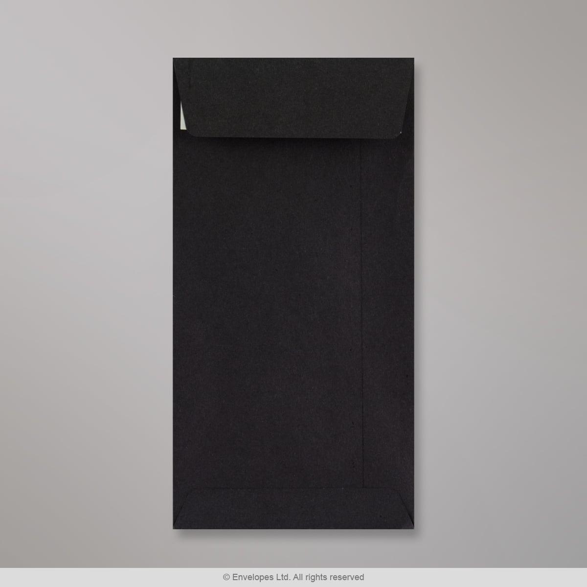 Musta kirjekuori 220x110 mm (DL)