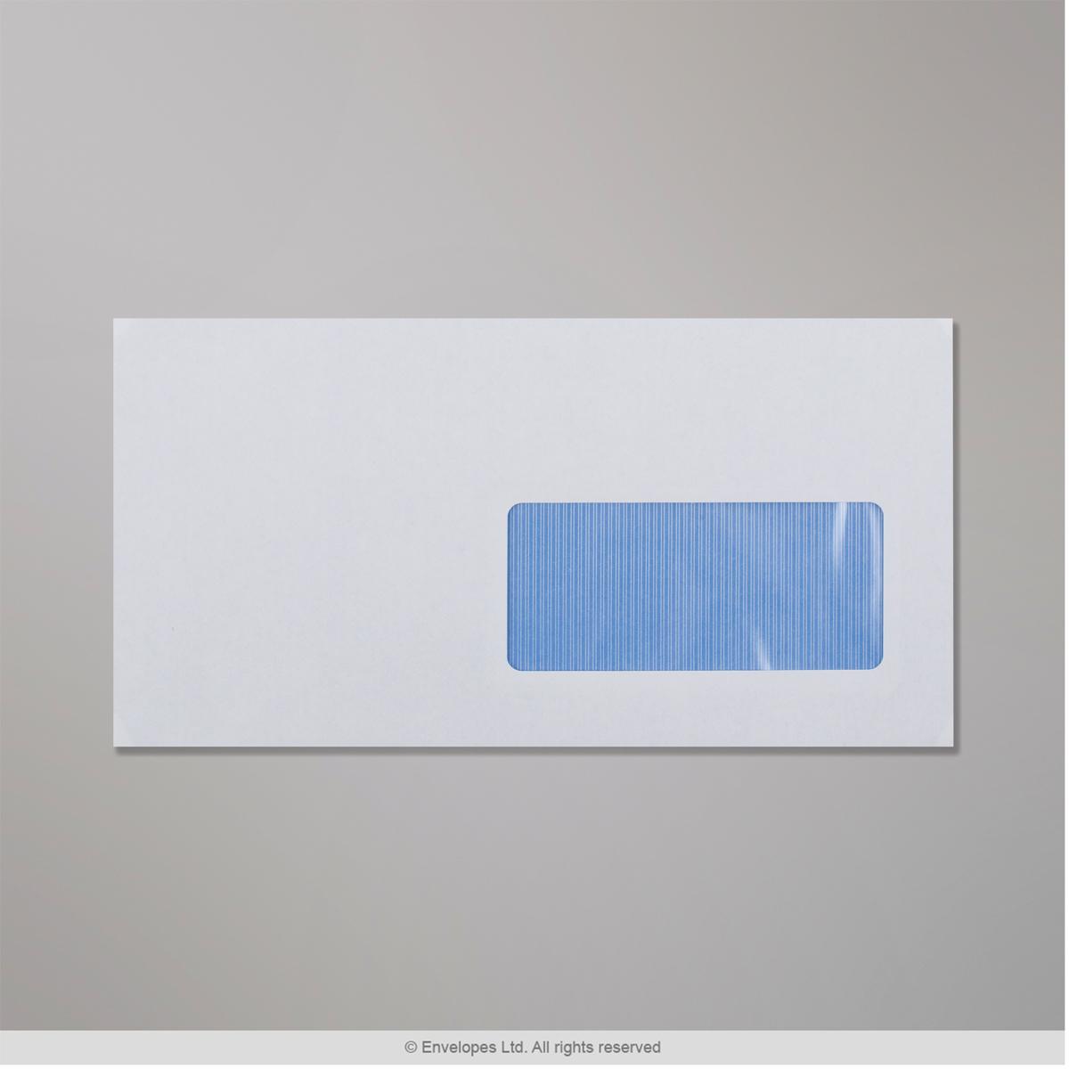 115x225 mm Busta bianca con finestra