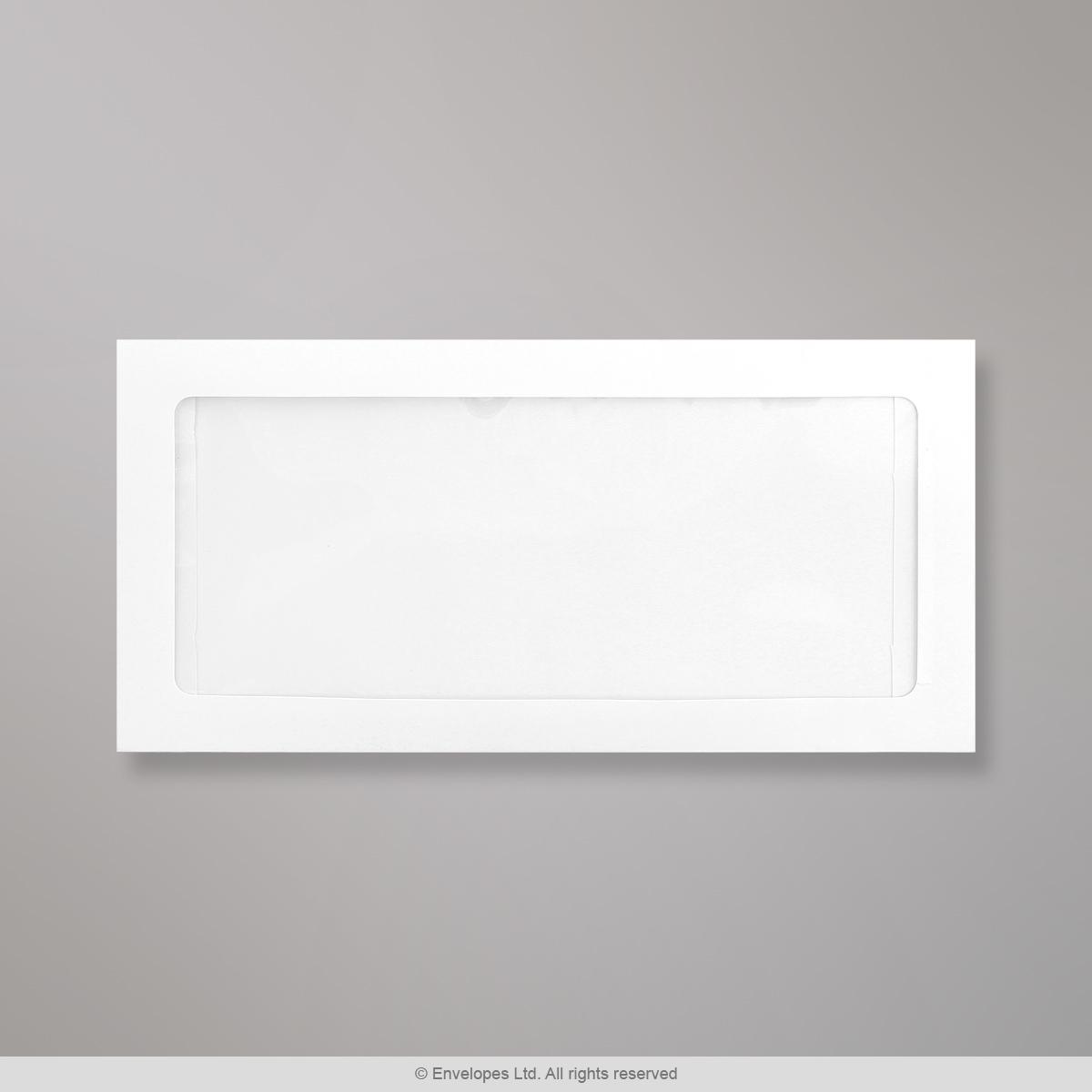 110x220 mm (DL) Busta con finestra con visualizzazione completa