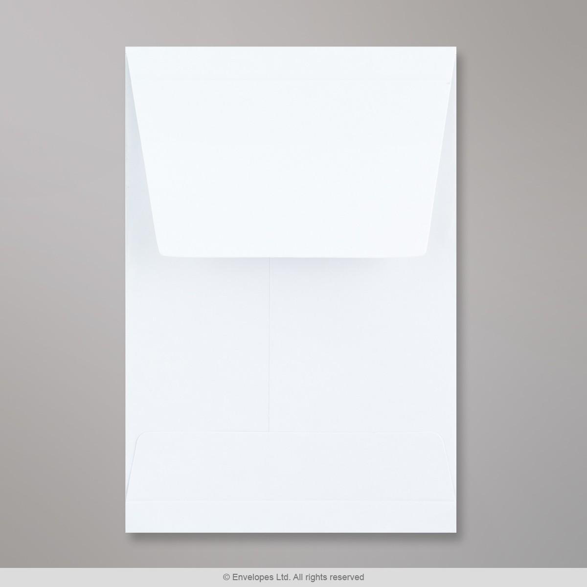 162x114x25 mm (C6) Busta a soffietto bianca