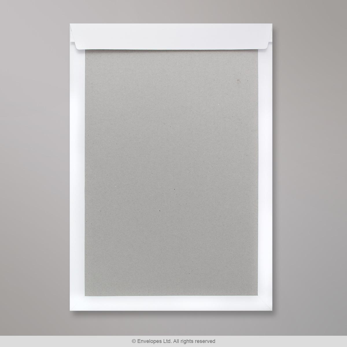 457x324 mm (C3) Busta con dorso rigido bianca