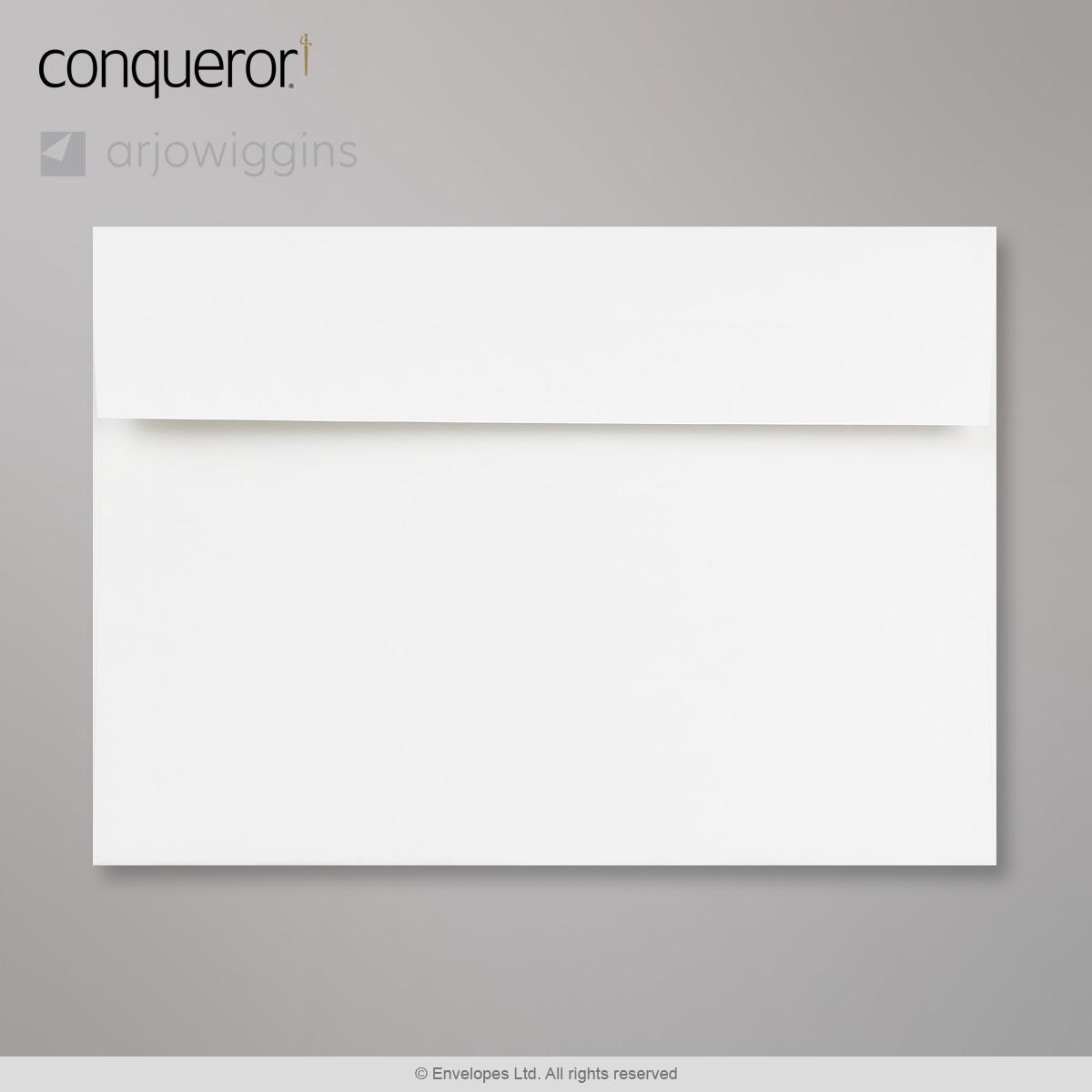 162x229 mm (C5) Busta Conqueror bianco naturale