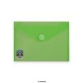 Envelopes V-Lock C5 Green 250x180 mm Velcro Closure