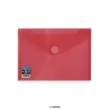 Envelopes V-Lock C5 Red 250x180 mm Velcro Closure
