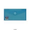 Envelopes V-Lock DL+ Blue 225x125 mm Velcro Closure