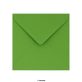 130x130 mm Clariana Mid Green Envelope