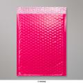 340x240 mm Pink Poly Gloss Bubble Bag