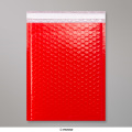 340x240 mm Rood Poly Glans Bubbel Tasje