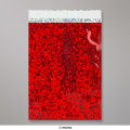 162x114mm (C6) Red Holographic Foil Bag
