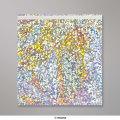220x220 mm Zilverkleurige, holografische folie-enveloppen