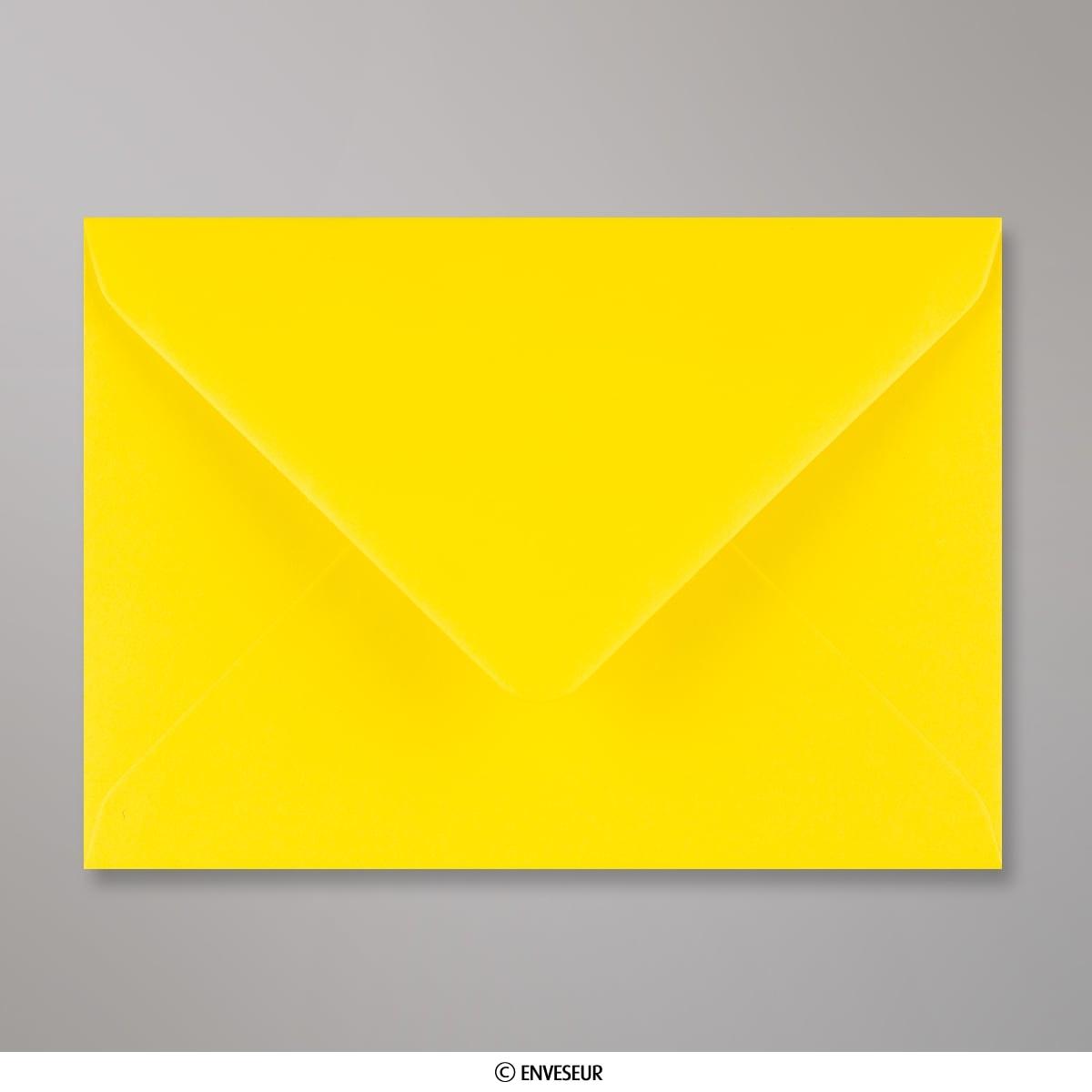Gelber Briefumschlag