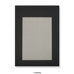 Black Board Back Envelopes
