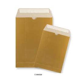 Goudkleurige kartonnen enveloppen