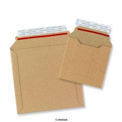 Manilla papir-pap kuverter