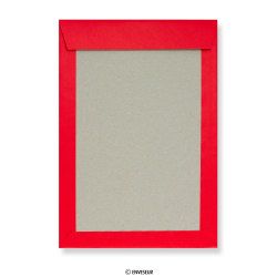 Red Board Back Envelopes