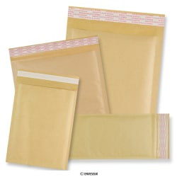 Plain Manilla Bubble Lined Bags