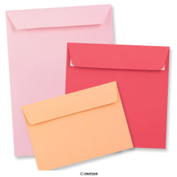 Clariana Pink Envelopes