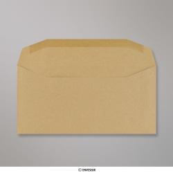 110x220 mm (DL) Enveloppe manille, Manille, Gommée