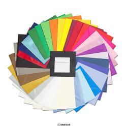 Neliömäiset värilliset kuoret