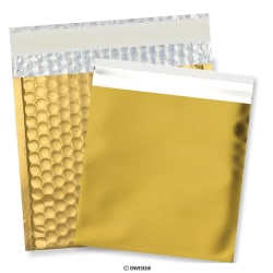 165 x 165 mm Envelopes de ouro