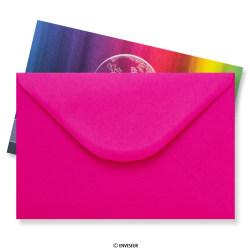 62 x 94 mm Ružové miniatúrne obálky