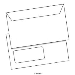 Commerciële C6-enveloppen (114 x 162)