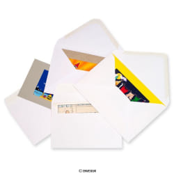 White Greetings Envelopes