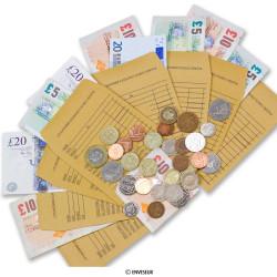 Obálky na hotovosť