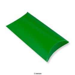 Caixa almofada verde