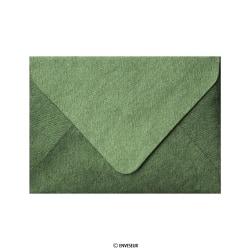 Skovgrøn Broderitekstur