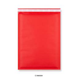Bolsa com bolhas kraft vermelho