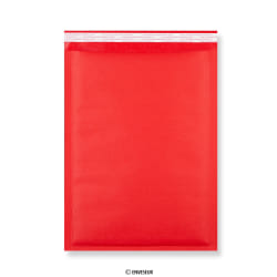 Punaiset voimapaperi kuplapussit