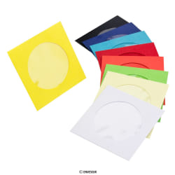 Envelopes para mini-cd com janela