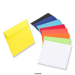 Papieren cd-enveloppen - zonder venster