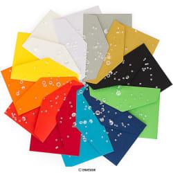 Farebné obálky so šípovou samolepiacou klopou