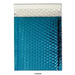 Metallinhohtoinen sininen