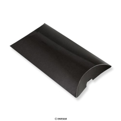 113x81 mm Zwarte pillowbox
