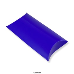 113x81 mm Caixa almofada azul
