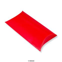 113x81 mm Caixa almofada vermelha