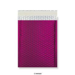 Bordeaux mat metallic luchtkussenenvelop