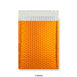Orange Metallic Matt Bubble Bags